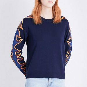 Sandro flame sweater